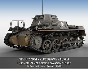 SDKFZ 265 - klPzBefWg - Ausf A - R01 3D military
