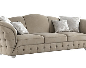 3D model sofa GOLD CONFORT SCARLETT