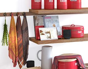 Typhoon Vintage Kitchen Red 2 3D model