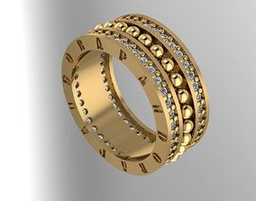 Wedding rings from 10 to 20 3D print model