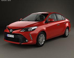 Toyota Vios 2017 3D model