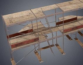 Industrial scaffolding 3D model realtime