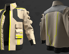 Sci-Fi Male Jacket - 54 Marvelous Designer and