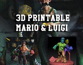 Mario Bros 3D Printable Concept