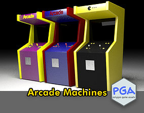Acade machines 3D model VR / AR ready