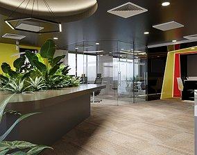 3D Office interior modern