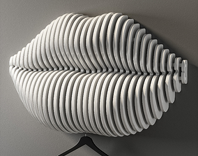 parametric lips 3D model