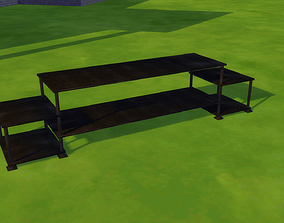 3D model Simple Tv Stand