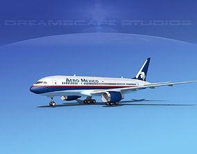 Boeing 787-8 Aeromexico 3D