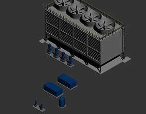 3D Water System Cooling AutoCAD