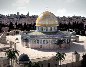 3D model Dome Of The Rock Jerusalem