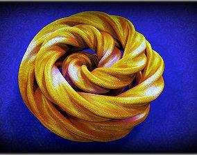 Flower Knot 3D model