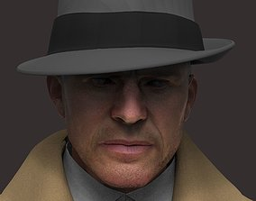 Noir Detective 3D model