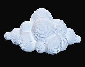 Decorative Cloud cloud 3D model