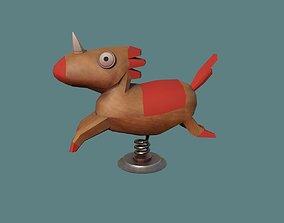 Horse 3D model realtime mammal