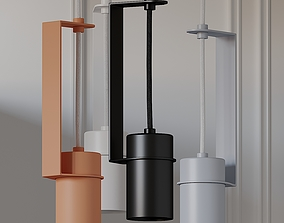 Top Top 90 Pendant Lamp From FILD 3D model