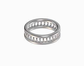 3D printable model Stylish Women Ring-Type A