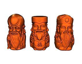 3D print model Paul longevity