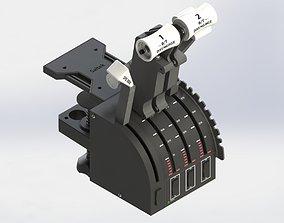 SPEEDBREAK EXTENSION FOR SAITEK 3D printable model