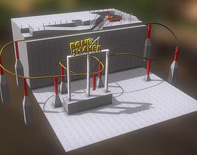 Jurassic Park Bone Shaker Track 3D model