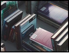 3D asset Book Collection