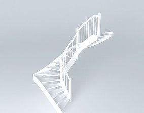 Staircase normal 3D model