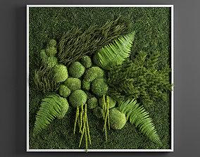3D model panel green