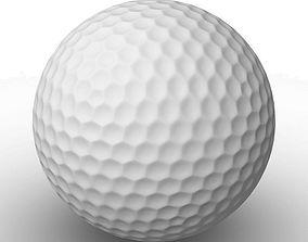 Golf ball 3D model games