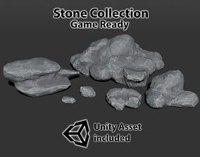 3D model Stone Collection