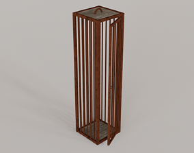 Medieval Cages Gibbets - Low-poly PBR 3D model