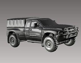 army dodge 3D print model