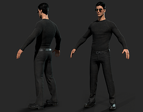 3D asset Neo Character For Game