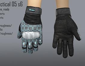 3D asset FPS hand glove tactical 05 s6
