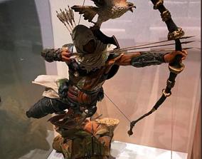 Assassins Creed Origins Bayek Figure 3D print model