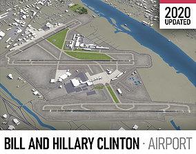 Bill and Hillary Clinton National Airport - LIT 3D asset