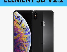E3D - iPhone XS Space Gray