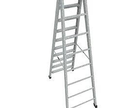 Step Ladder 3D asset