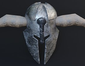 game-ready Medieval Warhead Game Ready Low - Poly 3d Model