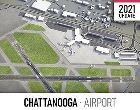 Chattanooga Airport 3D asset