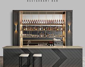 Restaurant bar 4 3D