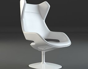 3D model Evolution Chair of Zanotta