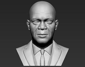 Samuel L Jackson bust 3D printing ready stl obj formats