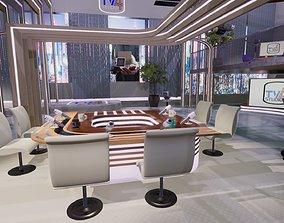 TV Studio 4 Unity 3D model