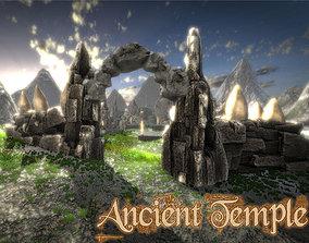 Ancient Old Temple 3D asset