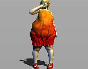3D print model Girl in sundress Part 2