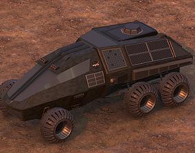 3D model NASA exploration rover