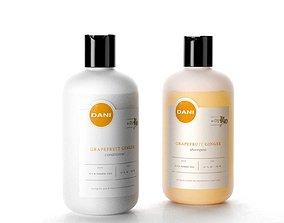 3D model store DANI Naturals Conditioner and Shampoo