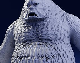 fantasy Bigfoot 3D Print Model