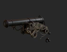 3D model Pirate ship prop