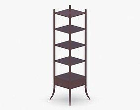 3D asset 0382 - Bookcase